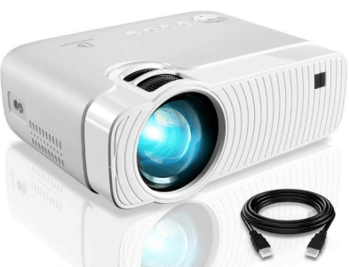 DracoLight 3300 Lumens Mini Portable Projector