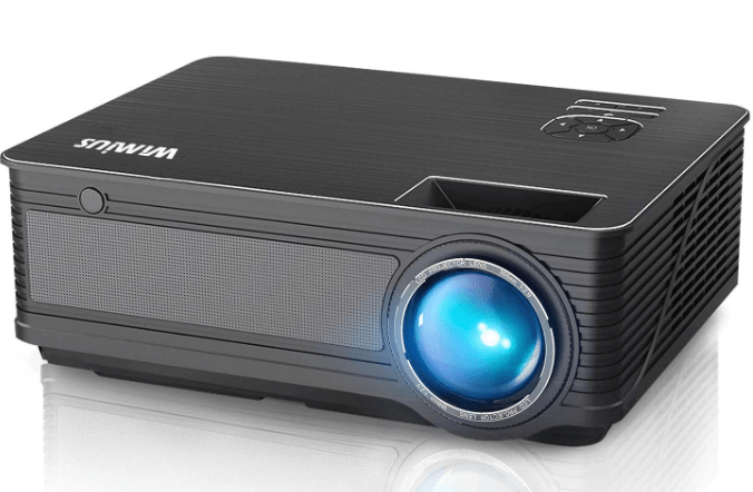 WiMiUS P18 Upgraded 4500 Lumens LED Movie Projector